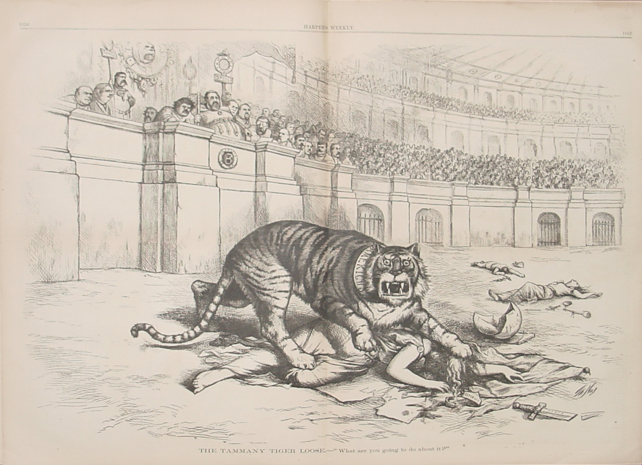 The Tammany Tiger Loose