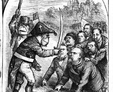 Proving a positive: Thomas Nast and the simian stereotype