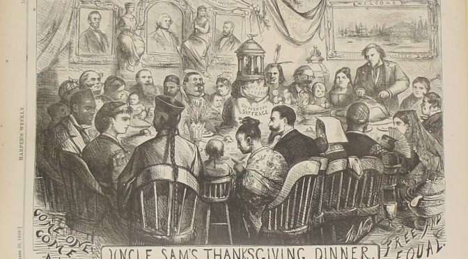 Celebrating Thanksgiving: two coasts – two interpretations!