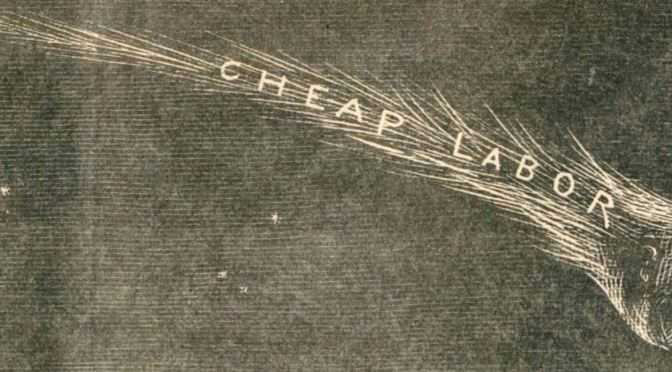 """The New Comet – A Phenomenon Now Visible in All Parts of the US""  1870"