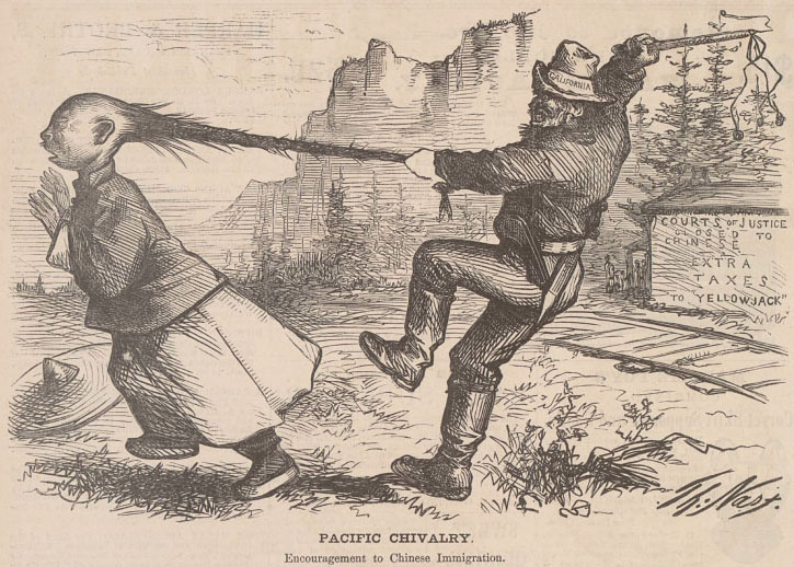 "Pacific Chivalry"" 1869 