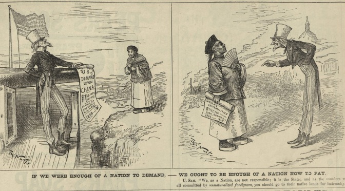 """If We Were Enough of a Nation to Demand, – We ought to Be Enough of a Nation Now to Pay"" 1886"